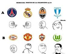 Enlace a Los memes de los grupos de la Champions League 2015/2016