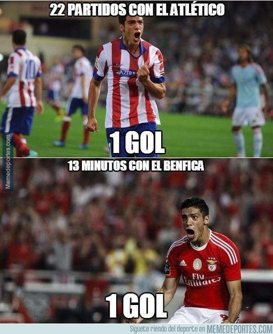 671050 - Diferencias entre el Jiménez del Atlético y el del Benfica