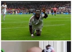 Enlace a Gomis asusta al United