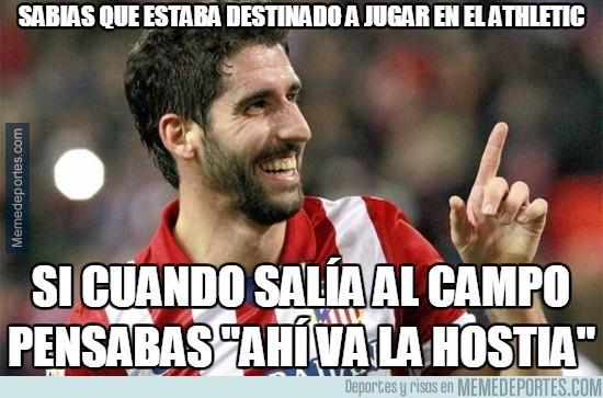 672642 - Raúl García estaba destinado a jugar en el Athletic
