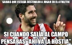 Enlace a Raúl García estaba destinado a jugar en el Athletic