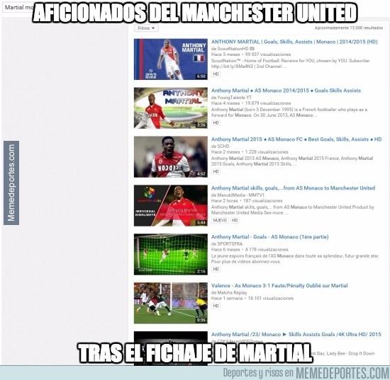 673000 - ¡Todos a buscar vídeos de Martial en Youtube!