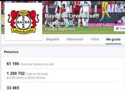 Enlace a El facebook del Bayer Leverkusen tras el anuncio del fichaje de Chicharito