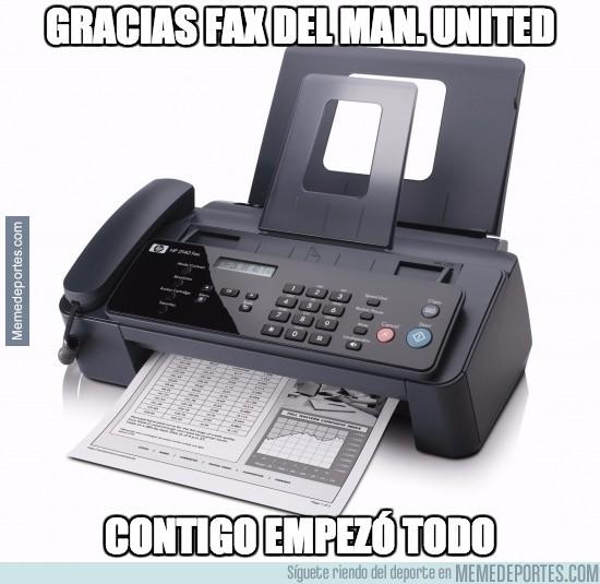 673755 - Gracias fax del Manchester United