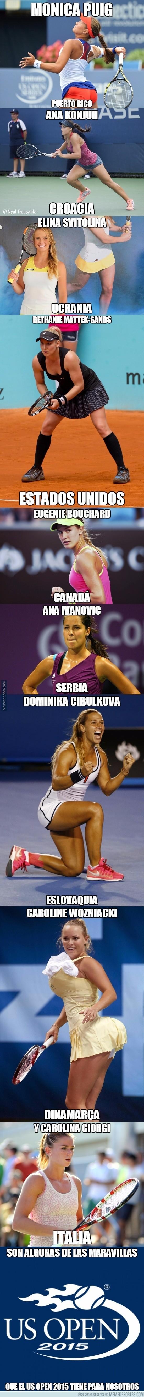 674988 - Algunas de las maravillas del US Open femenino
