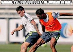 Enlace a Varane, ese jugador con la velocidad de Bale y las piernas de Cristiano