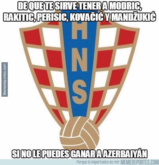 676830 - Croacia, ese equipazo que no puede con Azerbaiyán