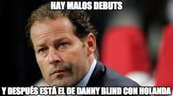 Enlace a Pésimo debut de Blind con Holanda