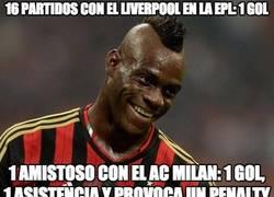 Enlace a Balotelli está hecho para jugar en el Milan