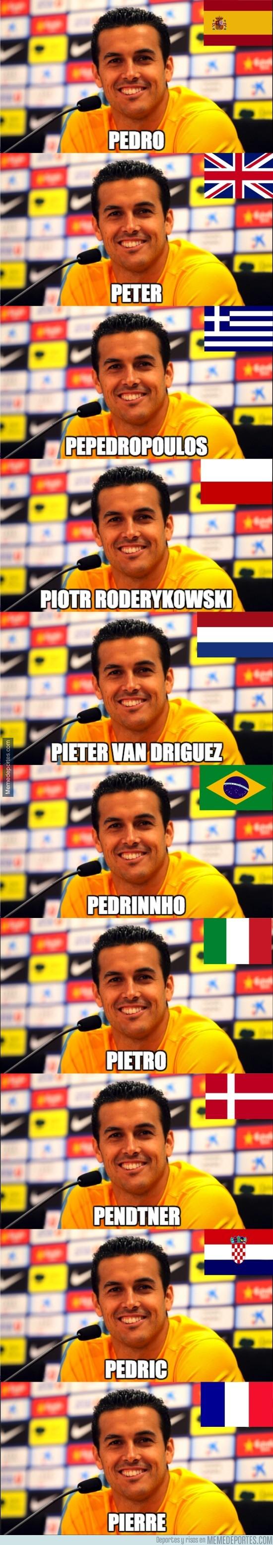 677090 - Cómo se llamaría Pedro Rodriguez según cada país