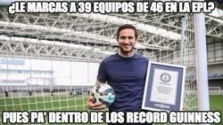 Enlace a Lampard entra en los Record Guinness