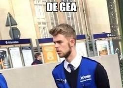 Enlace a De Gea ya tiene trabajo