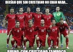 Enlace a La desastrosa selección de Portugal