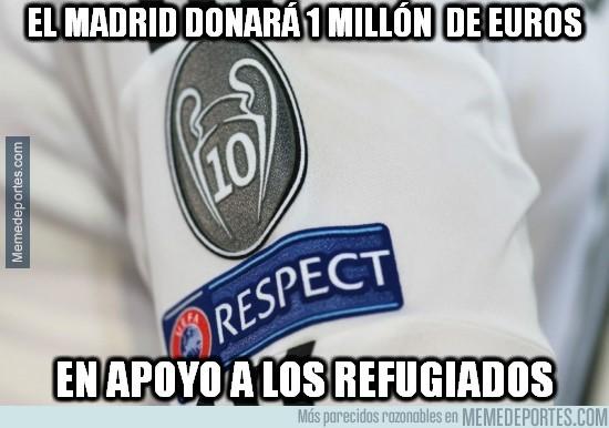 677802 - Grandísimo gesto del Real Madrid