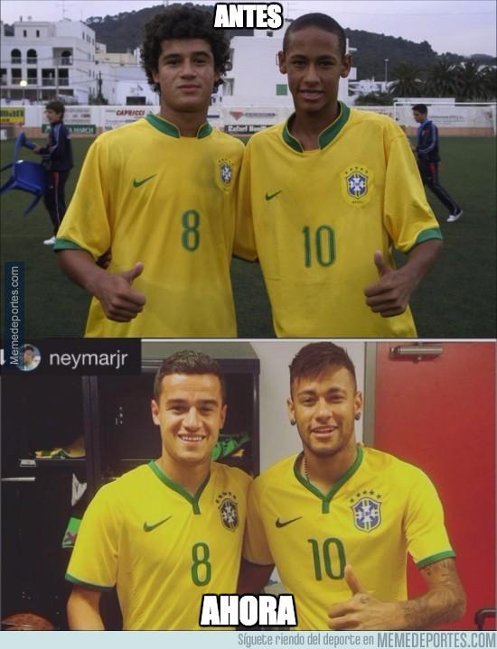678455 - Neymar y Coutinho