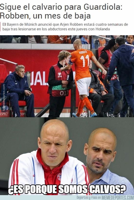 678510 - La duda de Robben y Guardiola