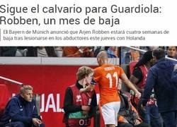 Enlace a La duda de Robben y Guardiola