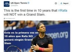 Enlace a Sharapova defendiendo a Nadal por Twitter y dejando mal a la cuenta oficial del US Open
