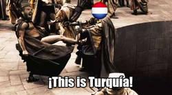 Enlace a Arda termina con Holanda