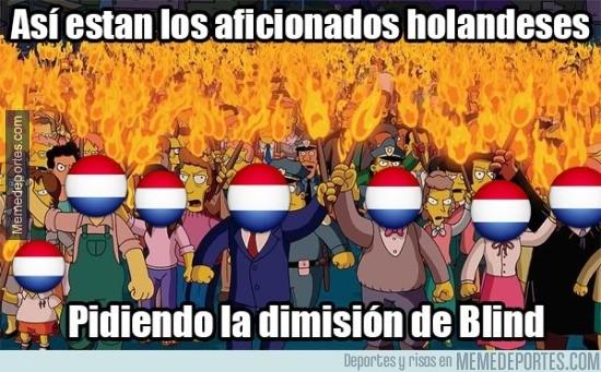 678919 - Lamentable el juego de Holanda