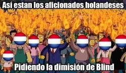 Enlace a Lamentable el juego de Holanda