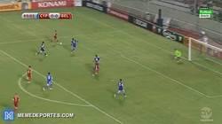 Enlace a GIF: Hazard pone el primer y definitivo gol del partido para Bélgica