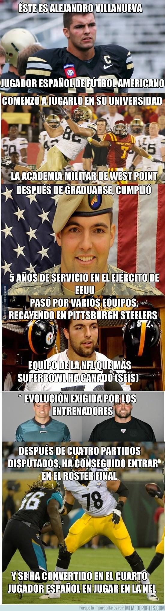 679394 - La historia de un español en la NFL ¡Enhorabuena Alejandro!
