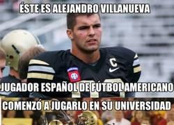 Enlace a La historia de un español en la NFL ¡Enhorabuena Alejandro!