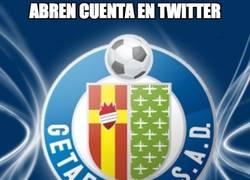 Enlace a ¡El Getafe ya tiene cuenta en twitter!