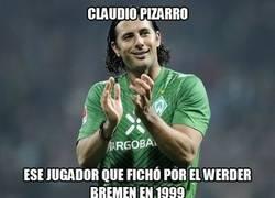 Enlace a Claudio Pizarro va y vuelve