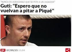 Enlace a Guti se pone celoso con el tema de Piqué