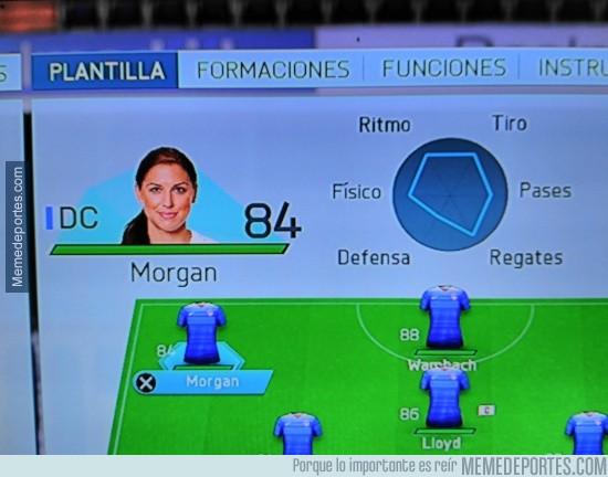 679562 - La diosa Alex Morgan en FIFA 16