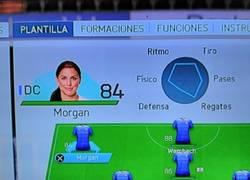 Enlace a La diosa Alex Morgan en FIFA 16