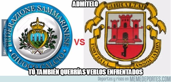 679767 - El duelo definitivo, San Marino vs Gibraltar
