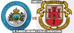 Enlace a El duelo definitivo, San Marino vs Gibraltar