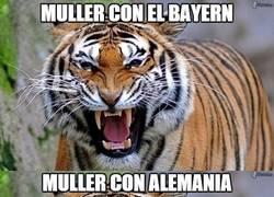 Enlace a Müller se sale juegue donde juegue