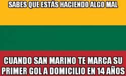 Enlace a San Marino haciendo historia contra Lituania