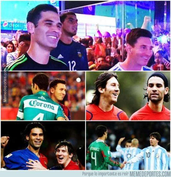 680797 - Hay grandes amistades y luego está la de Márquez y Messi