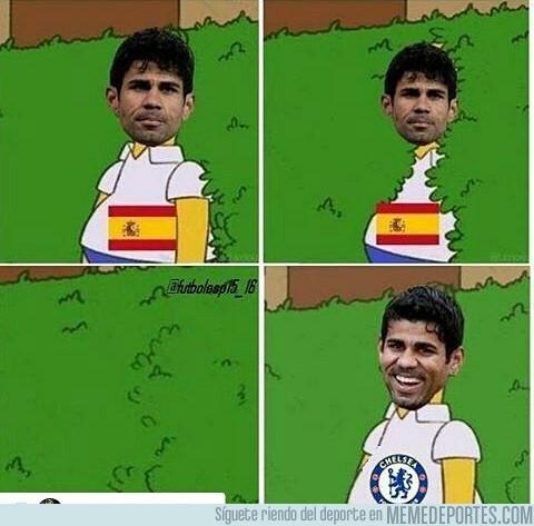 680977 - Diego Costa en la selección y en el Chelsea
