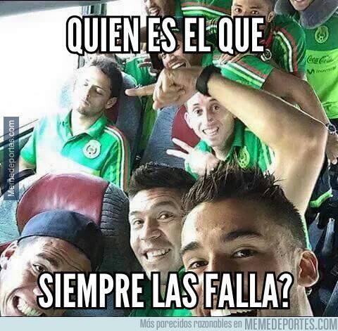 681032 - Los jugadores de México lo tienen claro