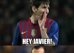 Enlace a Messi aconsejándole a Mascherano