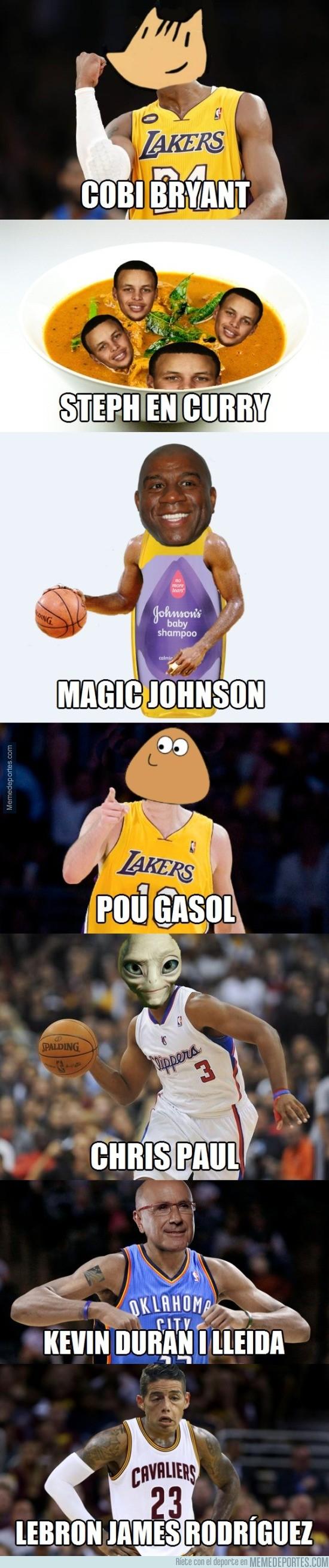 681363 - Memes con jugadores de la NBA