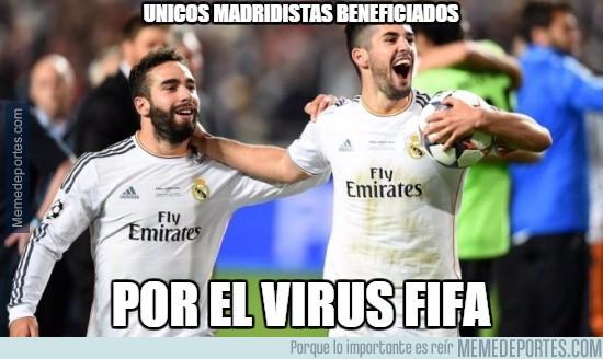 681569 - Únicos madridistas beneficiados por el virus FIFA