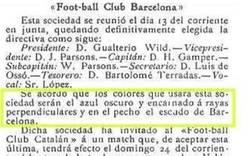 Enlace a La nueva camiseta del Barça no cumple el acuerdo de 1899