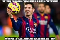 Enlace a Messi siempre cumple