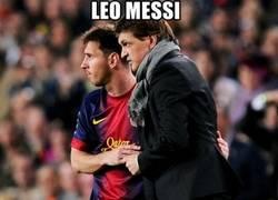 Enlace a Messi, especialista desde el banquillo
