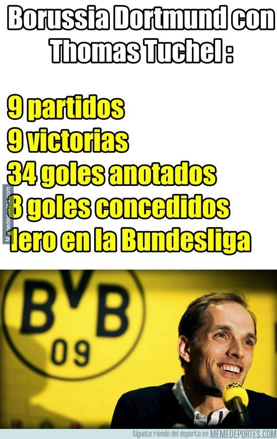 684398 - El Borrusia Dortmund imparable con Thomas Tuchel como entrenador