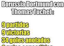 Enlace a El Borrusia Dortmund imparable con Thomas Tuchel como entrenador