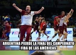 Enlace a Argentina pierde la final de baloncesto contra Venezuela, ¿También es culpa de Messi?