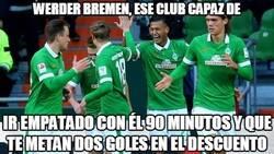 Enlace a Werder Bremen, los maestros de la emoción